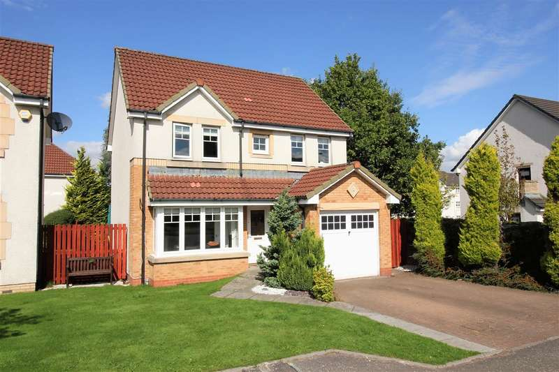 4 Bedrooms Detached House for sale in Tryst Park, The Inches, Larbert
