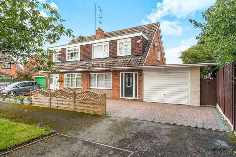 3 Bedrooms Semi Detached House for sale in Highfield Close, Sutton-On-Hull, Hull, HU7