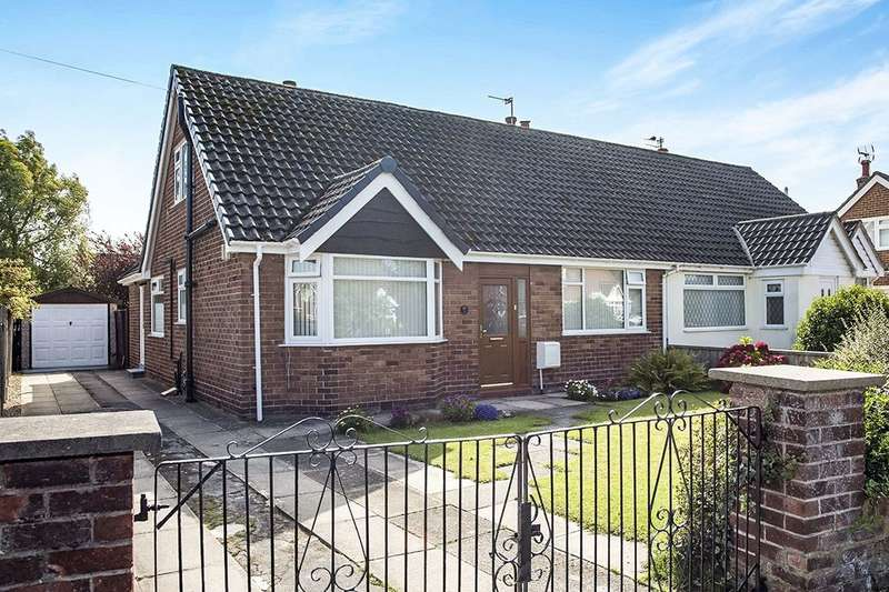 4 Bedrooms Semi Detached Bungalow for sale in Brooks Road, Formby, Liverpool, L37