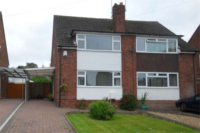 3 Bedrooms Semi Detached House for sale in Epsom Road, Bilton, RUGBY, Warwickshire