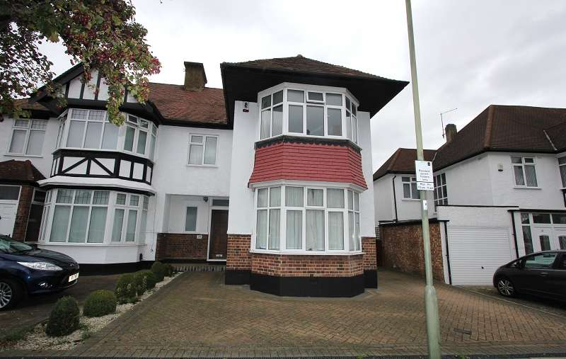 4 Bedrooms Semi Detached House for sale in Hillside Drive, Edgware, Greater London. HA8 7PF