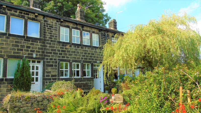 2 Bedrooms Cottage House for sale in West Laithe Heptonstall Hebden Bridge