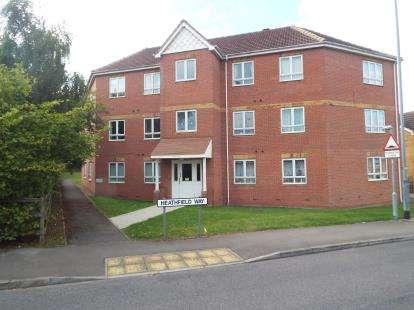 2 Bedrooms Flat for sale in Heathfield Way, Mansfield, Nottingham, Notts