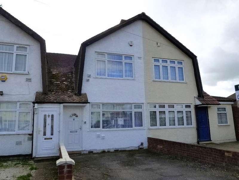 2 Bedrooms Terraced House for sale in Eton Road, Harlington, UB3 5HR