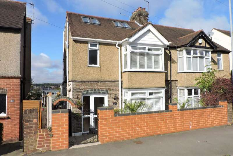 4 Bedrooms Semi Detached House for sale in Rutland Crescent, Luton, Bedfordshire, LU2 0RG
