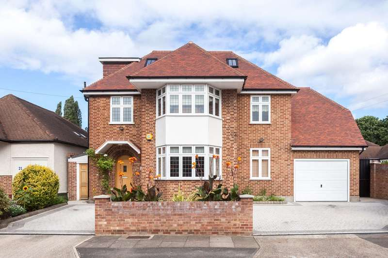 6 Bedrooms Detached House for sale in Branksome Way, New Malden, KT3