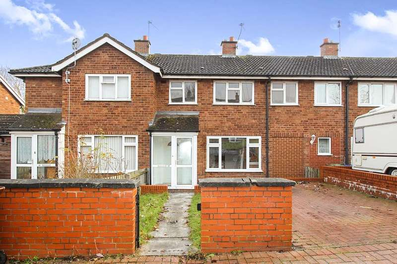 3 Bedrooms Terraced House for sale in Brindley Crescent, Hednesford, Cannock, WS12