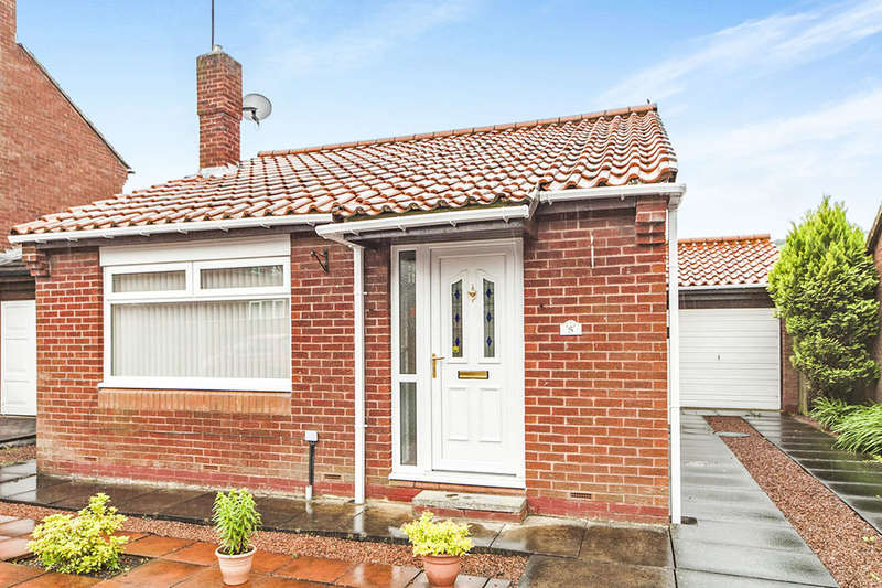 2 Bedrooms Detached Bungalow for sale in Netherton Close, Langley Park, Durham, DH7
