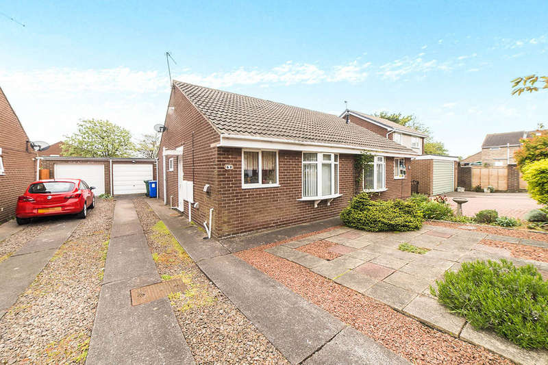 2 Bedrooms Semi Detached Bungalow for sale in Appledore Road, Blyth, NE24
