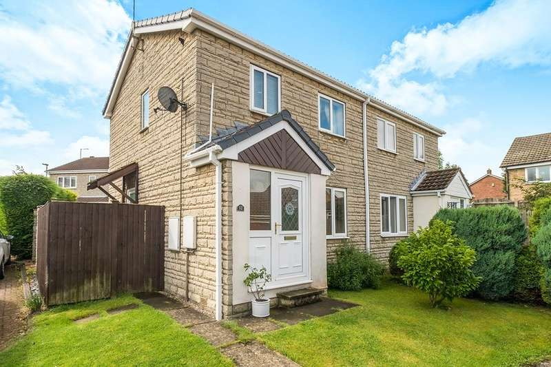 3 Bedrooms Semi Detached House for sale in Hillcrest Drive, South Anston, Sheffield, S25