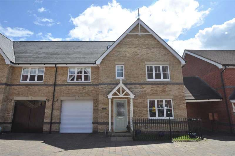 5 Bedrooms Semi Detached House for sale in Shimbrooks, Chelmsford