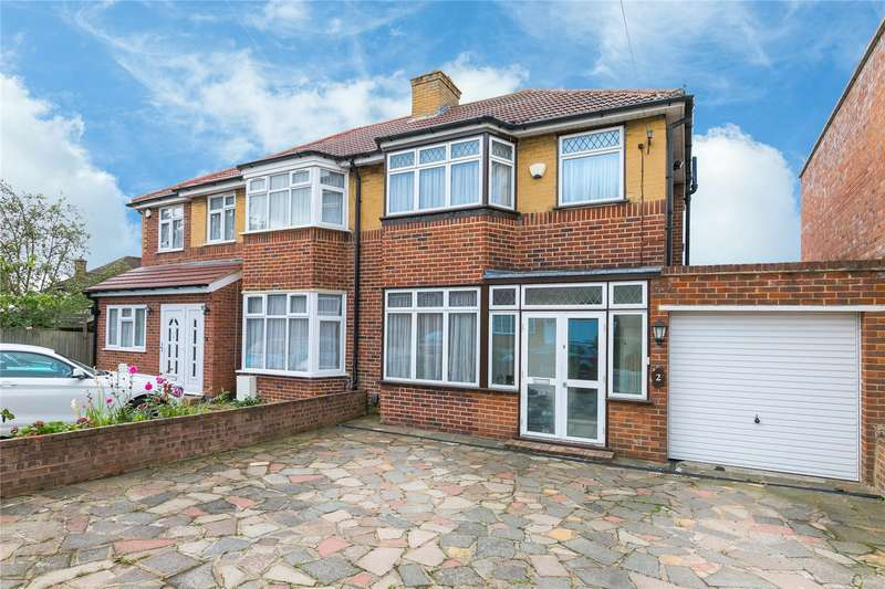 3 Bedrooms Semi Detached House for sale in Floriston Gardens, Stanmore, HA7
