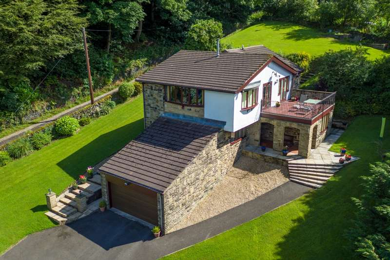 4 Bedrooms Detached House for sale in Stansfield Hall Road Todmorden