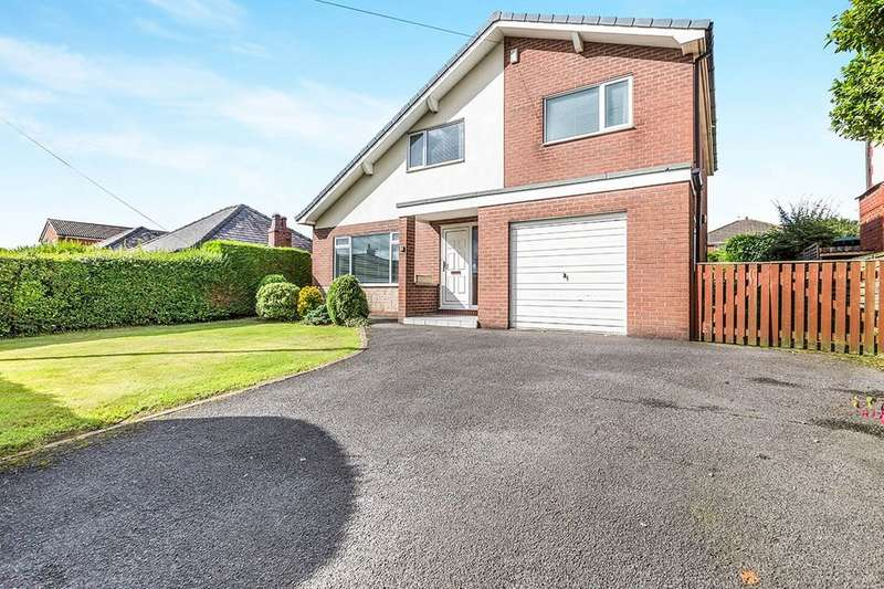 4 Bedrooms Detached House for sale in Runshaw Lane, Euxton, Chorley, PR7