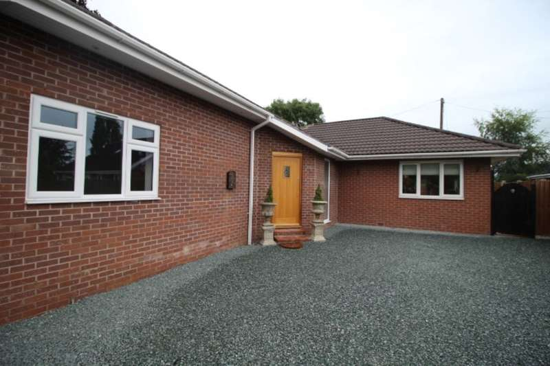 3 Bedrooms Detached Bungalow for sale in Golf House Lane, Prees Heath, Whitchurch, SY13