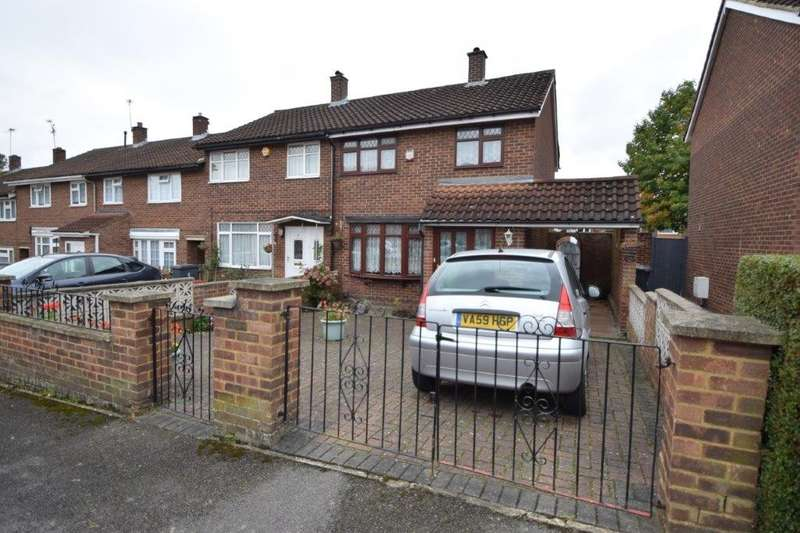 3 Bedrooms End Of Terrace House for sale in Bartelotts Road, Slough, SL2