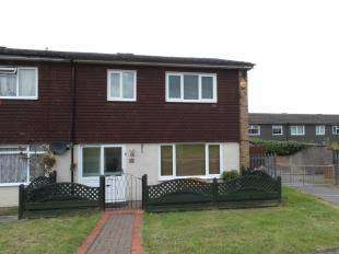 3 Bedrooms End Of Terrace House for sale in Elmside, New Addington, South Croydon, Surrey