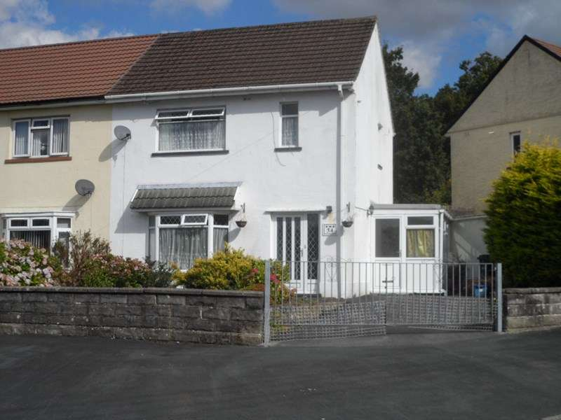 2 Bedrooms Semi Detached House for sale in Henneuadd Road, Abercrave, Swansea