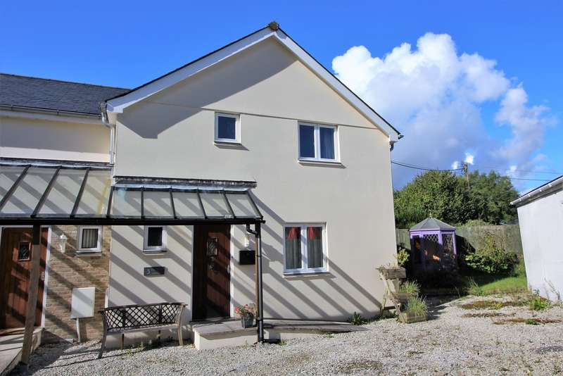 3 Bedrooms Semi Detached House for sale in The Old Smithy, Fore Street, Cornwood, Ivybridge, Devon