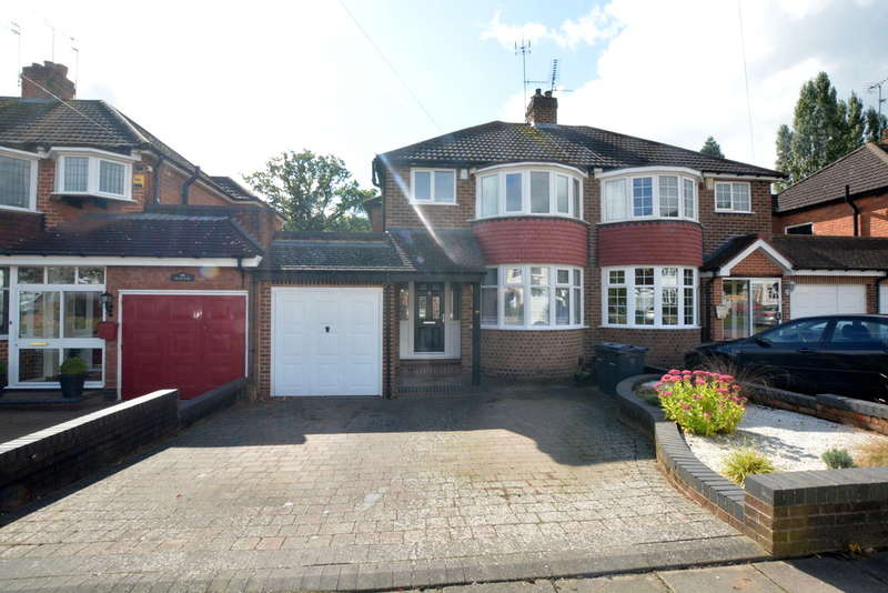 3 Bedrooms Semi Detached House for sale in Osmaston Road, Harborne