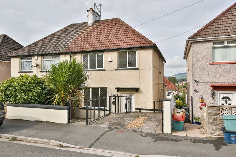 3 Bedrooms Semi Detached House for sale in Westfield Avenue, Newport, Monmouthshire, NP20