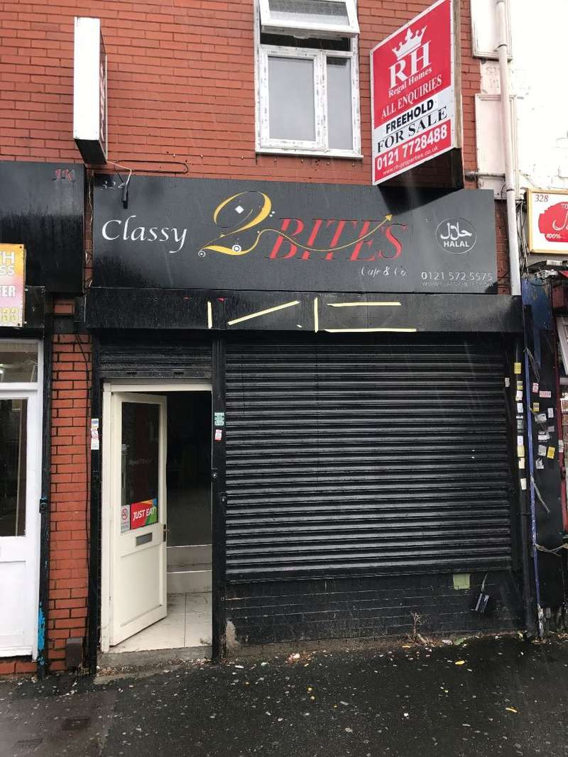 Shop Commercial for sale in Ladypool Road, Birmingham, B12
