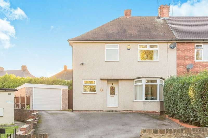 4 Bedrooms Semi Detached House for sale in Danby Avenue, CHESTERFIELD, S41
