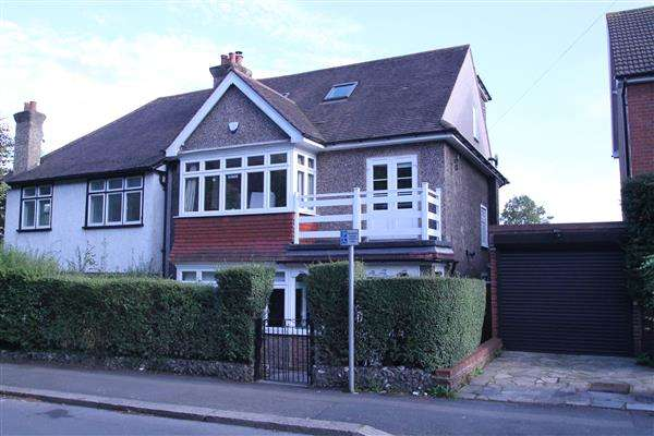 4 Bedrooms Semi Detached House for sale in Woodmansterne Road