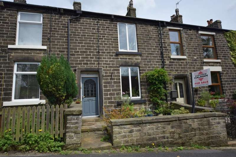 3 Bedrooms Terraced House for sale in Spring Vale Road, Hayfield, High Peak