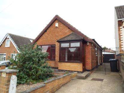 2 Bedrooms Bungalow for sale in Baker Avenue, Arnold, Nottingham