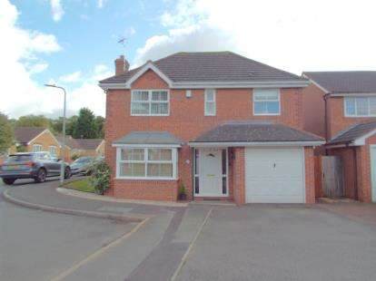 4 Bedrooms Detached House for sale in Lyncroft Leys, Scraptoft, Leicester, Leicestershire