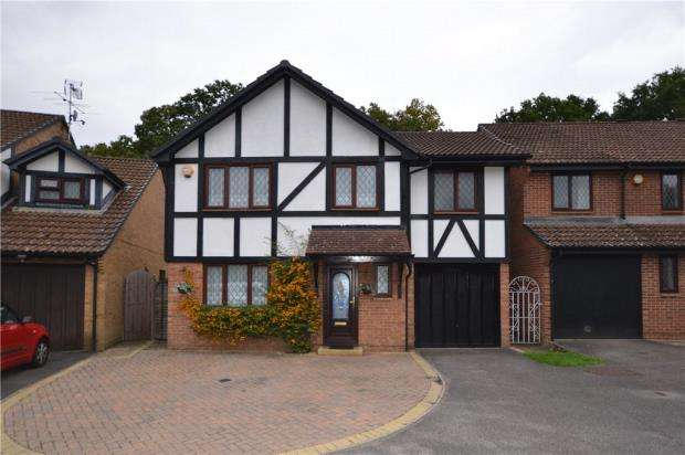 4 Bedrooms Detached House for sale in Drayhorse Drive, Bagshot, Surrey
