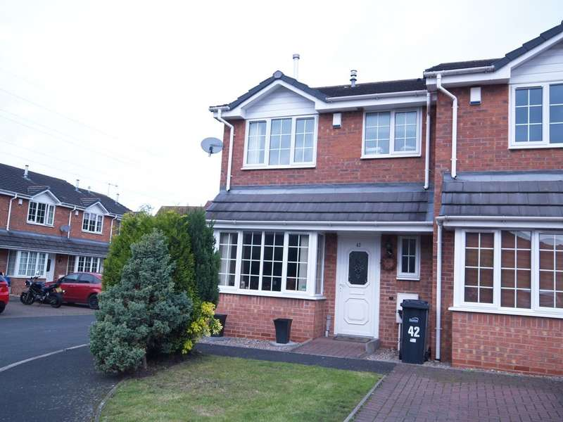 3 Bedrooms End Of Terrace House for sale in Primrose Park, Brierley Hill