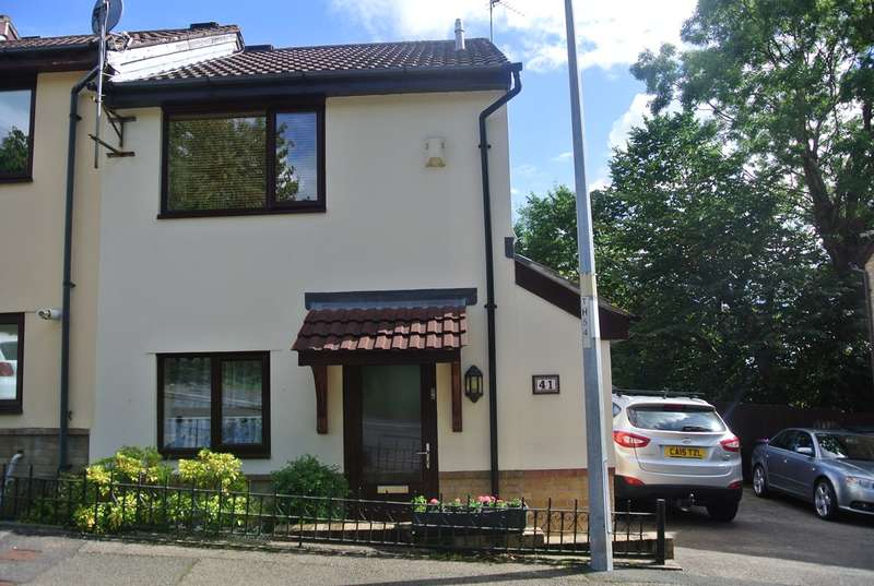 2 Bedrooms End Of Terrace House for sale in Beechleigh Close, Greenmeadow, Cwmbran, NP44