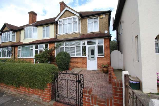 3 Bedrooms End Of Terrace House for sale in Commonside East, Mitcham, CR4