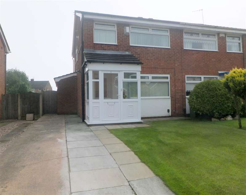 3 Bedrooms Semi Detached House for sale in Croston Avenue, Rainhill, Prescot