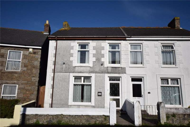 3 Bedrooms Semi Detached House for sale in Hughville Street, Camborne, Cornwall