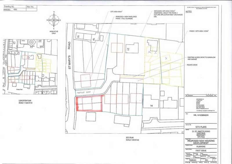 Land Commercial for sale in St Marys Road, Darfield, Barnsley, S73