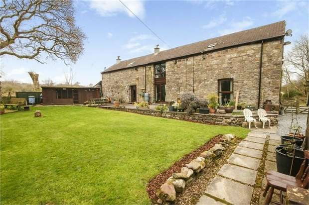 5 Bedrooms Detached House for sale in Banwen, Banwen, Neath, Powys