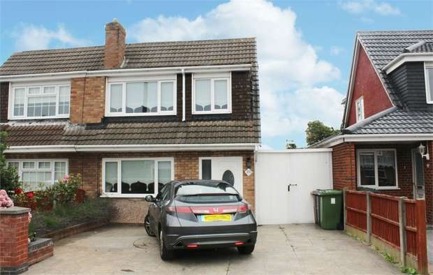 3 Bedrooms Semi Detached House for sale in Normington Close, Liverpool, Merseyside