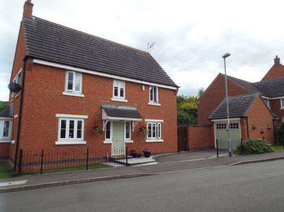 4 Bedrooms Detached House for sale in Pitchcombe Close, Lodge Park, Redditch, Worcs