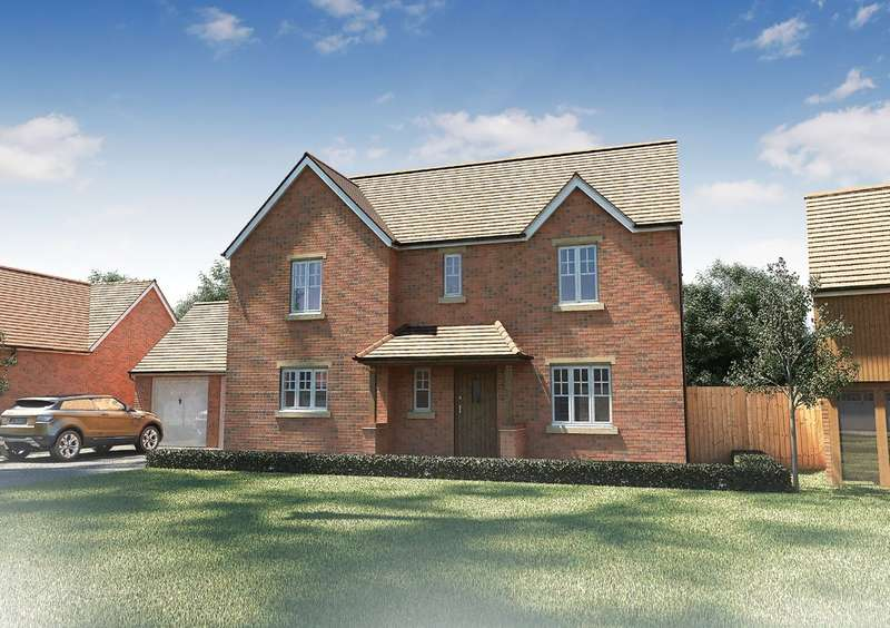 4 Bedrooms Detached House for sale in Plot 14 Maybush Fields