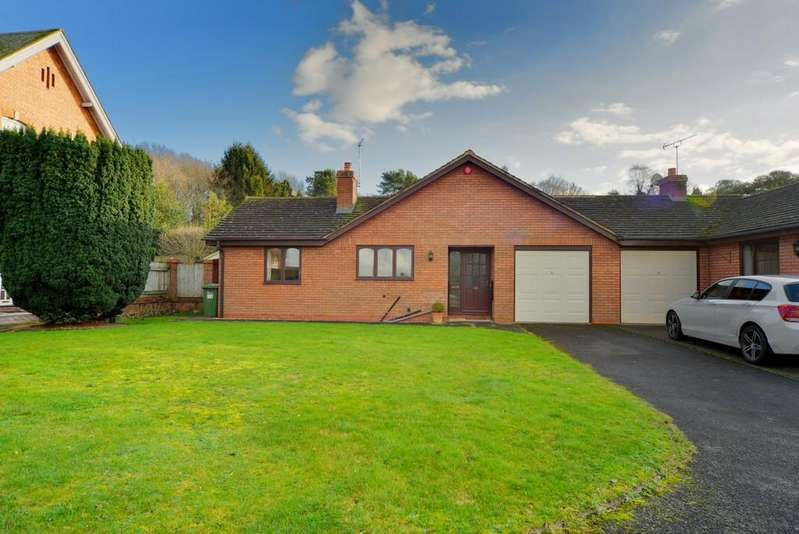 2 Bedrooms Detached Bungalow for sale in Frythe Close, Kenilworth