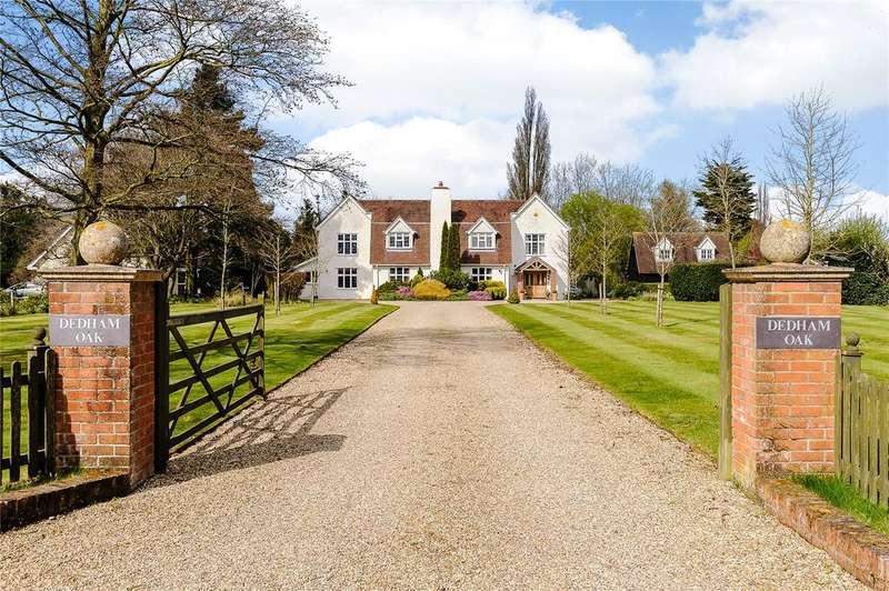 5 Bedrooms Detached House for sale in Coles Oak Lane, Dedham, Colchester