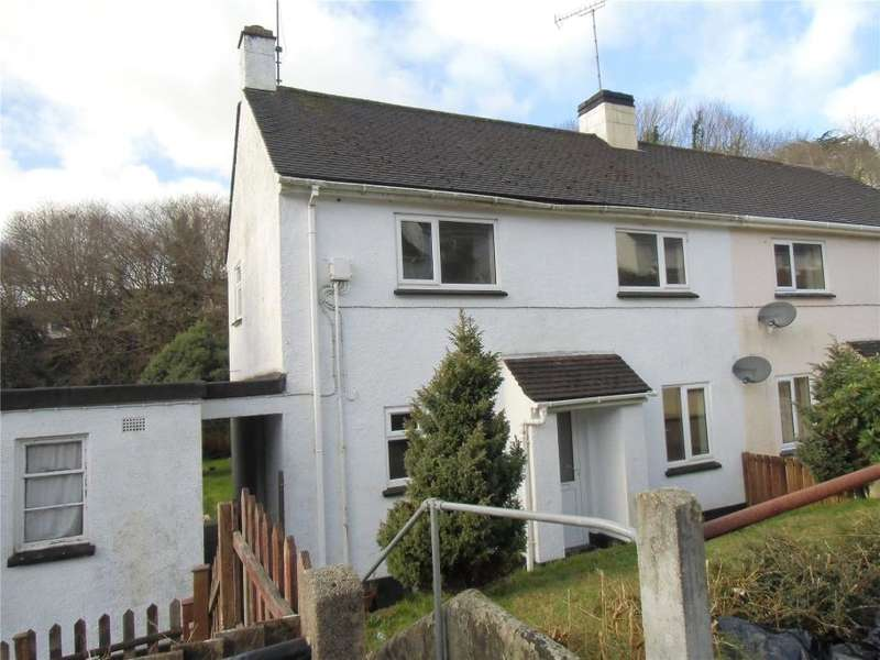 2 Bedrooms Semi Detached House for sale in Lanchard Rise, Liskeard