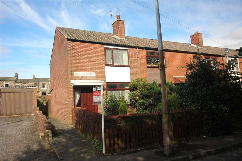 2 Bedrooms End Of Terrace House for sale in Seed Hill Terrace, Mixenden, Halifax