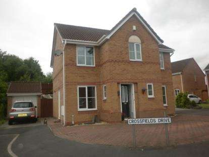4 Bedrooms Detached House for sale in Crossfield Drive, Hindley Green, Wigan, Greater Manchester