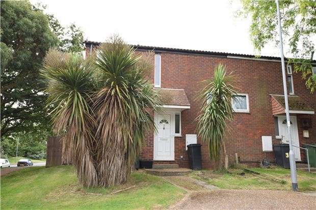 2 Bedrooms End Of Terrace House for sale in Croxden Way, EASTBOURNE, East Sussex, BN22 0UH