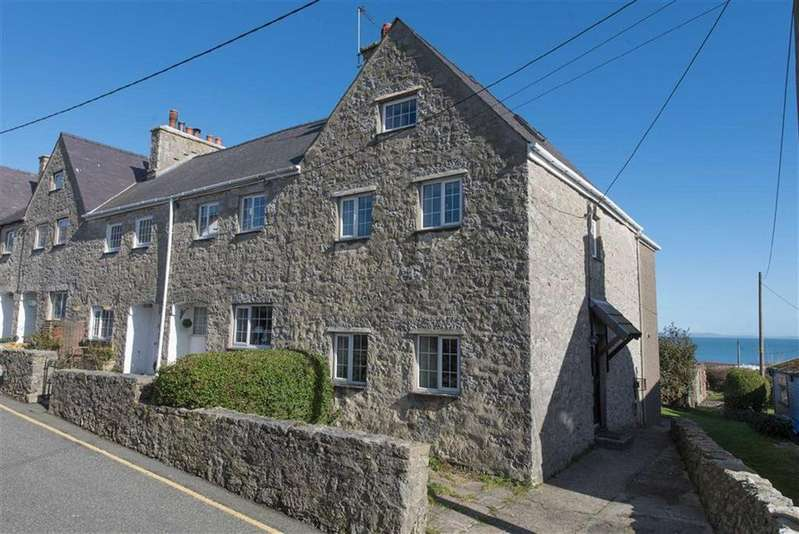 3 Bedrooms End Of Terrace House for sale in Morannedd, Moelfre, Isle Of Anglesey