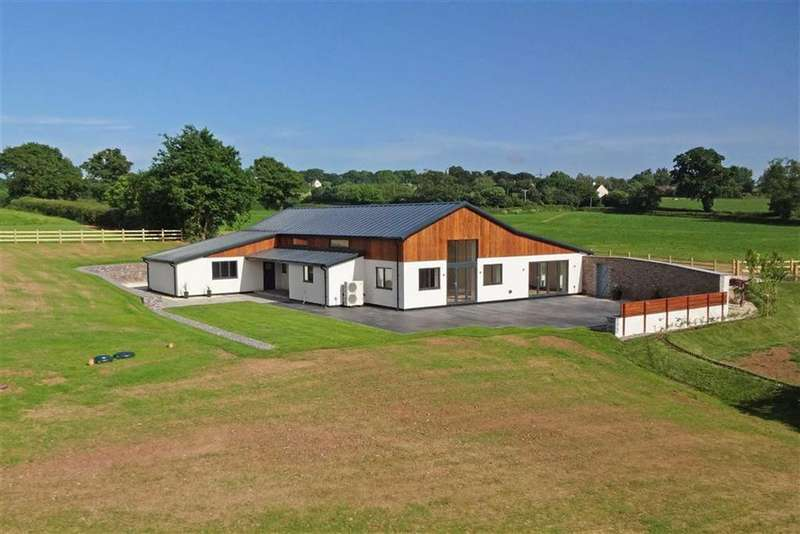 4 Bedrooms Detached House for sale in Lower Tale, Payhembury, Honiton, Devon, EX14